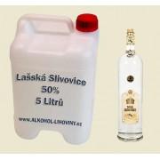 Kanystr Lašské Slivovice 50% 5L