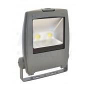 Tracon RSMDPA100W LED-es, aszimmetrikus SMD fényvető, 100 W teljesítménnyel, szürke színben, 4500K színhőmérséklettel, IP65-ös védelemmel, 8000 lm fényerővel