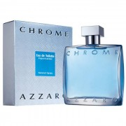 Azzaro Chrome Eau De Toilette Spray 100 Ml