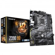 PLACA BASE GIGABYTE Z390 UD - PARA INTEL CORE 8TH GEN - SKT LGA1151 - CHIPSET Z390 - 4*DDR4 - HDMI - GAMING LAN - CROSSFIRE - ATX