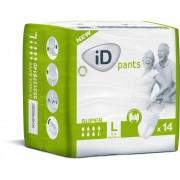 Ontex - ID Pants Pack de 4 sachets de ID Pants L Super