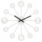 Koziol Zegar ścienny Pinball biały