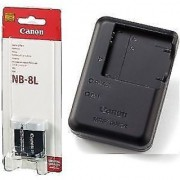 Canon NB-8L Lithium-Ion Battery Pack + canon CB-2la Charger Include