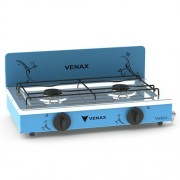 Fogão Portátil Flamalar Vetrô Azul - Venax Eletrodomésticos