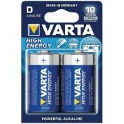 Baterii Varta D 4920121412 Alkaline, 1.5V
