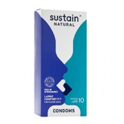 COMFORT FIT LUBRICATED CONDOMS (Large) 10 Pack