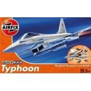 Macheta avion de construit Eurofighter Typhoon
