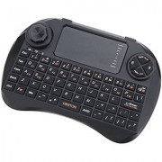 Microware Keyboard with Touchpad Viboton X3 Wireless Tablet Keyboard (Black)