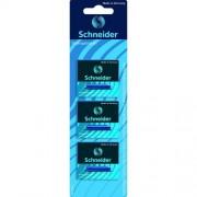 Schneider Conf. 18 Cartucce Ricambio Standard Inchiostro Blu Per Stilografiche