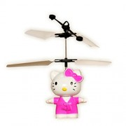 Hello Kitty Mini Flying Minion Sensor Helicopter