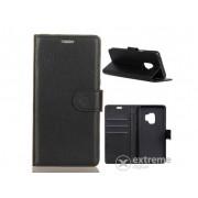 Husa din piele Gigapack cu functie stand pentru Samsung Galaxy S9 (SM-G960), negru