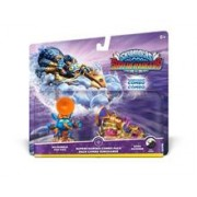Set 2 Figurine Skylanders Superchargers Dual Pack 3 Pop Fizz and Soda Skimmer