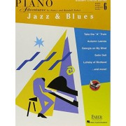 Faber Piano Adventures Student Choice Series: Jazz & Blues Level 6