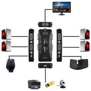 4-Port VGA/USB 2.0 KVM Switch - FullHD