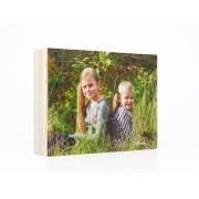 Houten fotoblok 10x15 cm