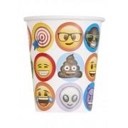 Vegaoo 8 Muggar från Emoji 270 ml One-size