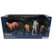 Set 5 figurine - Cai salbatici NTB03019