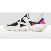 Nike Free rn 5.0 hardloopschoenen wit/zwart heren