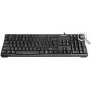 Tastatura A4Tech USB KR-750 (Negru)