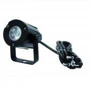 EuroLite LED PST-3W 6000K 6° negro
