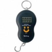 Pachet 3 bucati Cantar electronic negru portabil Cu baterii 40Kg
