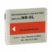 Canon NB-6L fényképezőgép akkumulátor - utángyártott