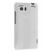 HTC Velocity 4G Slim Mesh Case - HTC Hard Case (White)