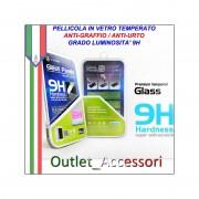 Pellicola in Vetro Temperato X-One per HTC ONE M8 9H