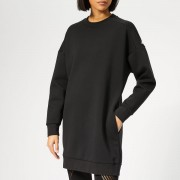 adidas Women's Sport 2 Street Tunic Sweatshirt Dress - Black - M - Black