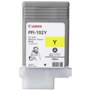 Мастилена касета Canon Dye Ink Tank PFI-102 Yellow for iPF500, iPF600, iPF700, 0898B001AA