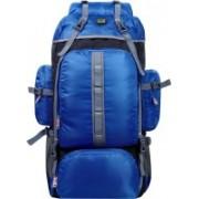 alfisha Outdoor Sports 65 L Hiking Climbing Bag Waterproof Trekking Mountaineering Rucksack Men Women Travel Daypack Camping Backpack 1042 Royal Blue Rucksack - 65 L(Neon)