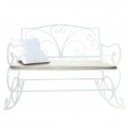 Polsterauflage für Schaukelbank HWC-C39, Gartenbankauflage Sitzkissen Sitzpolster, creme ~ Variantenangebot