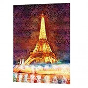 Homyl 1000 pieces Puzzle Kids Jigsaw Puzzles Educational Toys for Children Adults puzzles Eiffel Tower