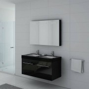 Distribain Meubles salle de bain DIS1200N noir