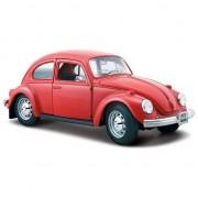 Maisto Speelgoed auto Volkswagen Kever rood 1:24