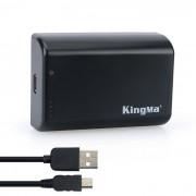 Kingma ABPAK-404H 2500mAh Bateria para GoPro Hero 2 3 3 + 4 - Negro