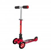 Nextreme GRAND PRIX összecsukható 3 kerekű roller kisfiúknak, piros színű fékezhető alu roller ,120