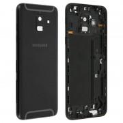 clappio Capplio Tampa Traseira Preta para Samsung Galaxy A6