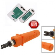 Cat5 Network LAN Cable Tester( RJ45 RJ11)Free Network Ethernet Cable Punch