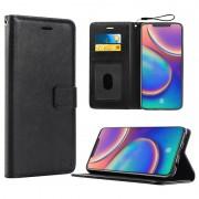 Saii Premium Huawei Mate 20 Pro Wallet Case - Black