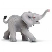Safari Ltd Wild Safari Wildlife - African Elephant Baby - Realistic Hand Painted Toy Figurine Model - Quality Constructi
