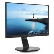 "Monitor Philips 240B7QPJEB/00 24"" IPS LED 1920x1200 20 000 000:1 5ms 300cd DP HDMI USB repro cierny"