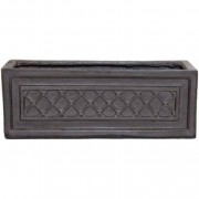 The Pot Co Clayfibre Windsor Trough Planter Available in 3 Sizes