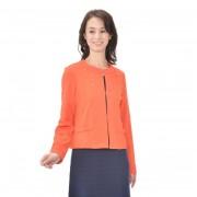 NbyA アシンメトリービジューの異素材ストレッチジャケット【QVC】40代・50代レディースファッション