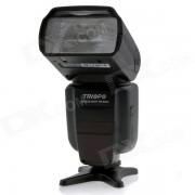 Triopo TR-982II C E-TTL Maestro / Esclavo de alta velocidad de sincronizacion 1 / 8000s flash Speedlite para Canon DSLR