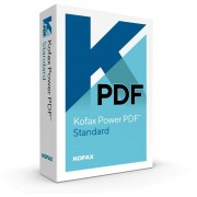 Kofax Power PDF Standard3.0 1 Użytkownik - Win - English Deutsch (German)
