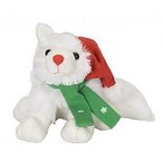 Wild Republic Christmas Arctic Fox 12 Plush