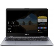 ASUS VivoBook Flip TP510UA-E8132T-BE Grijs Hybride (2-in-1) 39,6 cm (15.6'') 1920 x 1080 Pixels Touchscreen Intel® 8ste generatie Core™ i5 8 GB DDR4-SDRAM 256 GB SSD Windows 10 Home