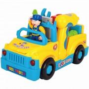 Camionul cu unelte al micului mecanic - jucarie interactiva - Hola Toys - limba engleza