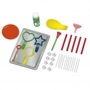 Set de joaca Experimente amuzante Baloane de sapun Keycraft, 9 experimente, 6 ani+